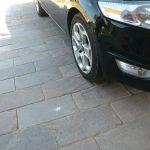 Sandstone Mahogni køre belægning af sandsten farver