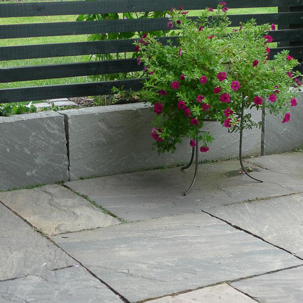 Kant på sandstens terrasse