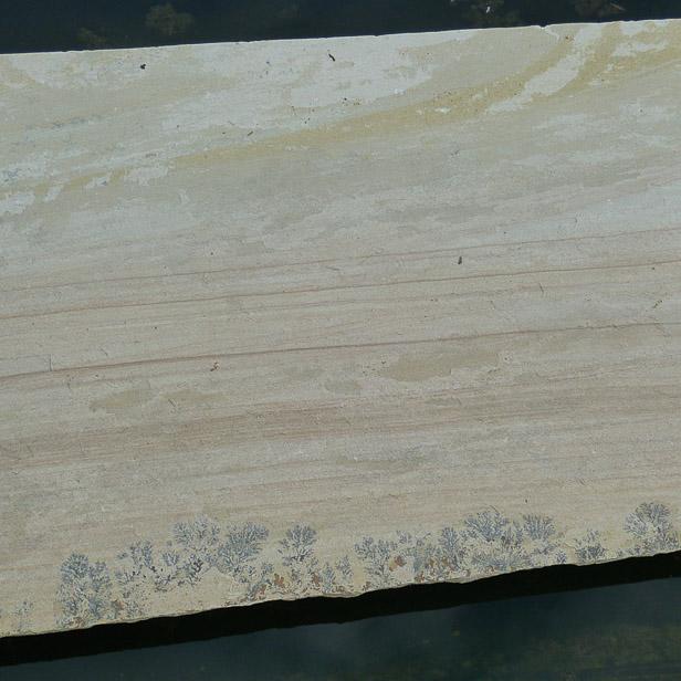 stor flise som trædesten sandstone sahara