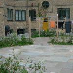 baggård romersk mønster sandstone Olive