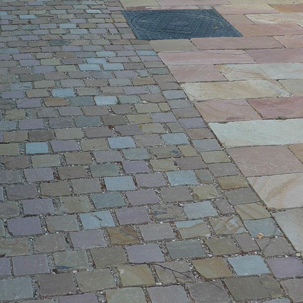 Avanceret chaussésten 10x10x8-10 cm - Sandstone Natursten GZ49