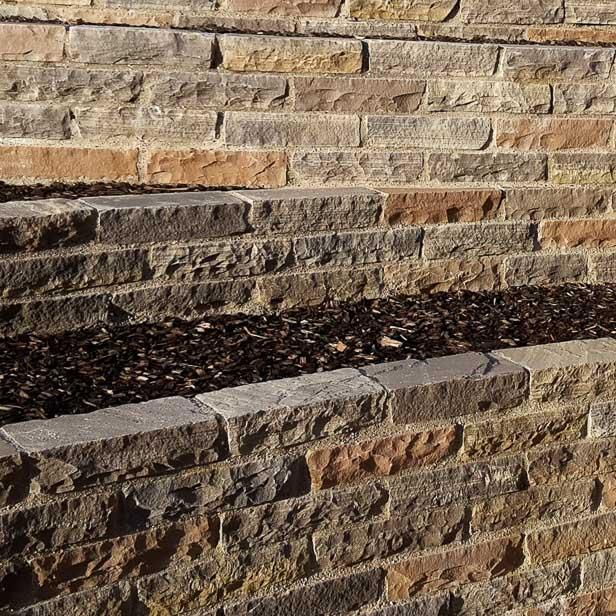 murblokke natursten sandsten Sandstone