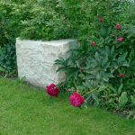natursten sandsten Sandstone udstilling kuber blokke