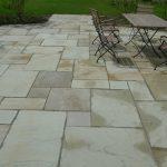 natursten sandsten Sandstone udstilling romersk mønster terrasse