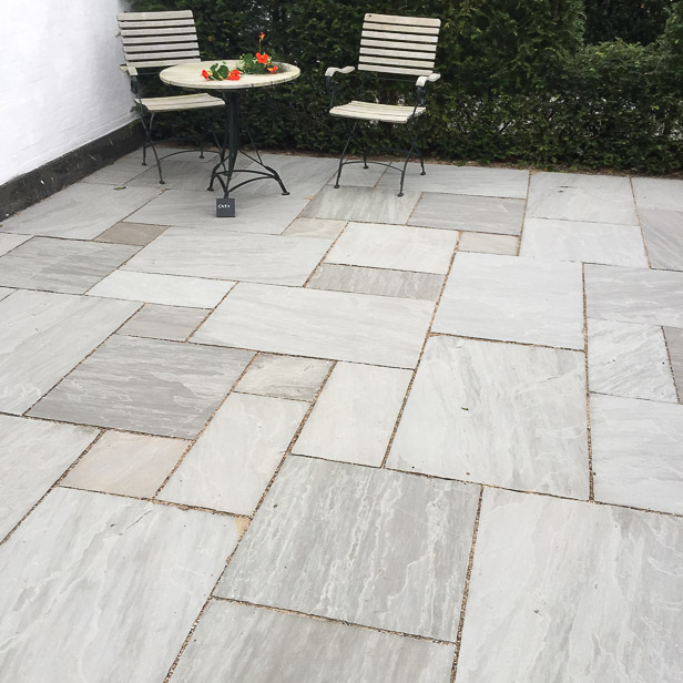 natursten sandsten Sandstone udstillingshaver Grey Chelsea
