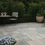natursten sandsten Sandstone udstillingshaver Grey Celsea mønster