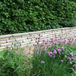 natursten sandsten Sandstone udstillingshaver mursten hyggelig havemur